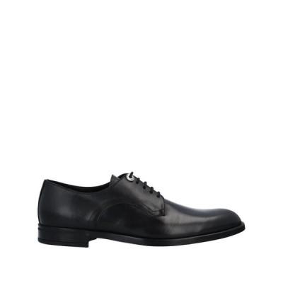 ROBERTO BOTTICELLI メンズ レースアップシューズ 靴 ブラック