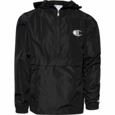 チャンピオン Champion メンズ レインコート アウター Packable Jacket Black