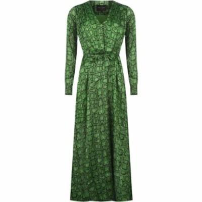 ビギッテ ヘアスキン Birgitte Herskind レディース ワンピース ワンピース・ドレス Bh Paula Dress Green Snake