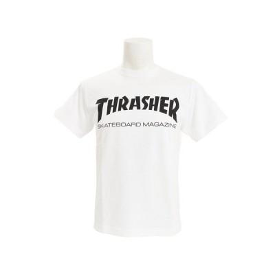 スラッシャー(THRASHER) Tシャツ 半袖 MAG LOGO Tシャツ TH8101WHT オンライン価格 (メンズ)