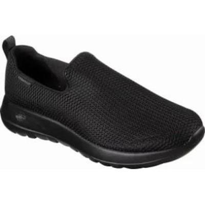 Skechers メンズシューズ Skechers GOwalk Max Slip-On Walking Shoe Black/Blac