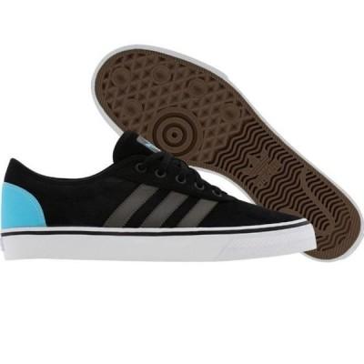 ユニセックス スニーカー シューズ Adidas Skate Adi Ease (black1 / dark cinder / sup cyan)