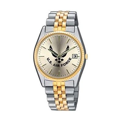 Aqua Force Air Force Emerge 腕時計 38mmのゴールドフェイス