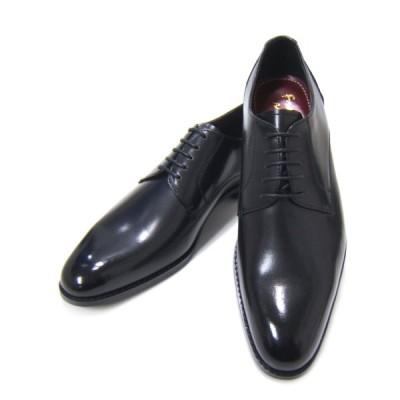 フランコ ルッチ/FRANCO LUZI FL2200-BLK ブラック 紳士靴 プレーントゥ ビジネス 送料無料