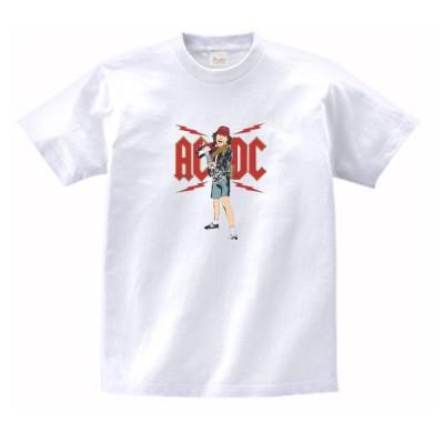 AC/DC 音楽・ロック・シネマ Tシャツ