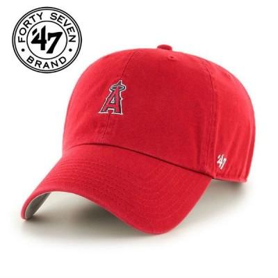 47Brand フォーティーセブン ブランド cap キャップ ンゼルスキャップ MLB01022 クリーンナップ レッド Los Angeles Angels LA 野球