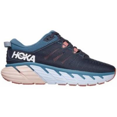 ホッカオネオネ レディース スニーカー シューズ HOKA ONE ONE Women's Gaviota 3 Running Shoes Blue/Rose