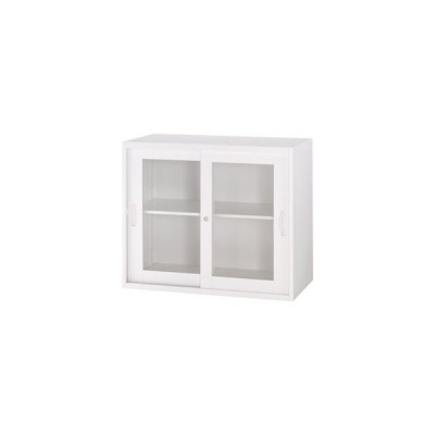 ●教育施設様限定商品 オフィスユニットH750ガラス引戸型  ed 801443