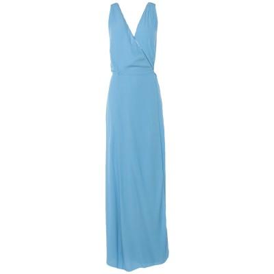 フォルテ フォルテ FORTE_FORTE ロングワンピース&ドレス アジュールブルー 0 レーヨン 100% ロングワンピース&ドレス