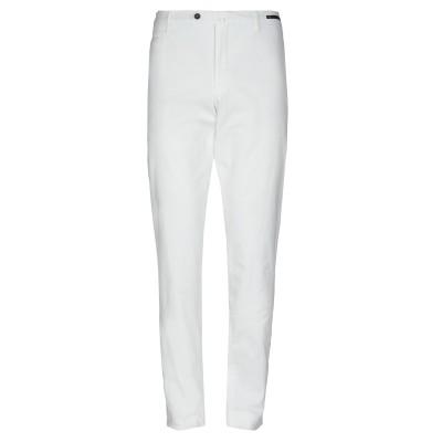 PT Torino パンツ ホワイト 56 コットン 98% / ポリウレタン 2% パンツ