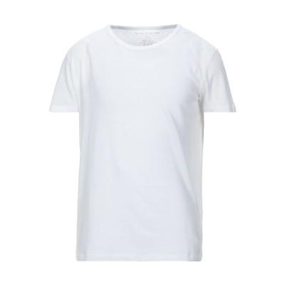 マジェスティック MAJESTIC FILATURES T シャツ ホワイト XL コットン 85% / カシミヤ 15% T シャツ
