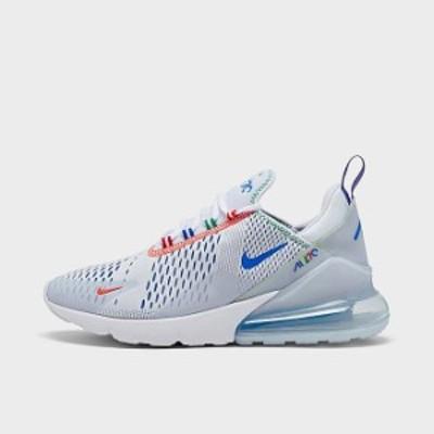 ナイキ メンズ エアマックス270 Nike Air Max 270 スニーカー White/Racer Blue/Half Blue