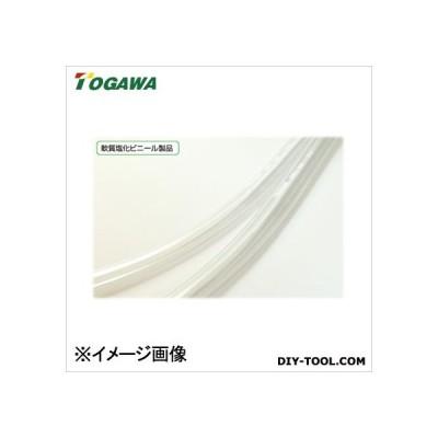 十川産業 【在庫限り特価】ビニールチューブ(ホース) 透明 12×16
