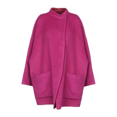 アルマーニ コレッツィオーニ ARMANI COLLEZIONI コート フューシャ 38 毛(アルパカ) 70% / バージンウール 30% コート
