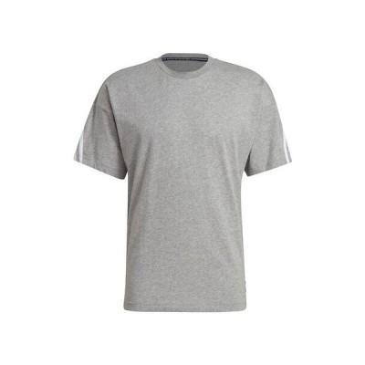 アディダス(adidas) スポーツウェア 3ストライプス 半袖Tシャツ AT064-GP9510 (メンズ)