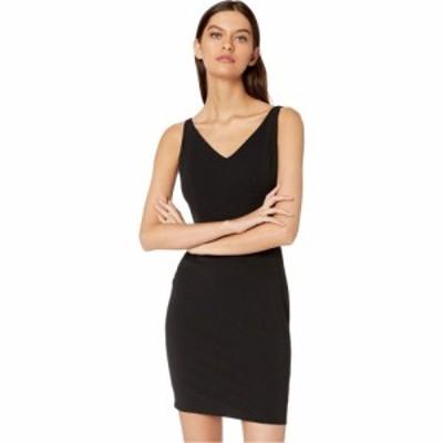 ベベ Bebe レディース ワンピース Vネック ノースリーブ ワンピース・ドレス V-Neck Sleeveless Dress Black