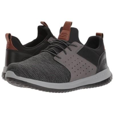 スケッチャーズ SKECHERS メンズ シューズ・靴 Classic Fit Delson Camben Black/Grey