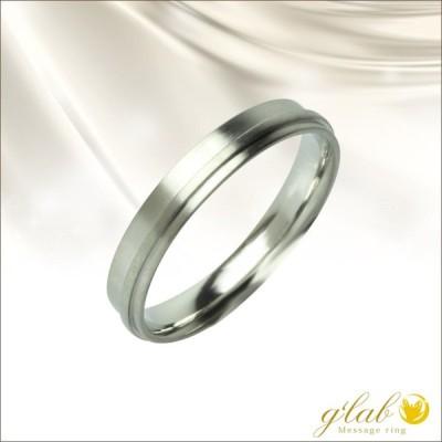 リング ステンレス 指輪 単品 刻印 名入れ 無料 艶消しタイプ シルバー ナチュール nature:自然 ジーラブ