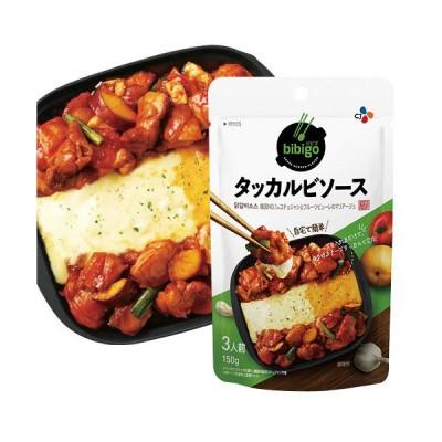 『CJジャパン』bibigo タッカルビソース(150g) チーズタッカルビ 手軽 簡単アレンジ 時短 韓国調味料 韓国料理 韓国食品