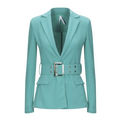 インペリアル IMPERIAL テーラードジャケット ターコイズブルー XXS ポリエステル 95% / ポリウレタン 5% テーラードジャケット