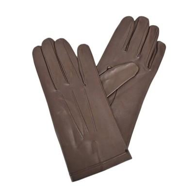 マルテッリ オールレザーグローブ メンズ手袋 Martelli Sfoderati ブラウン