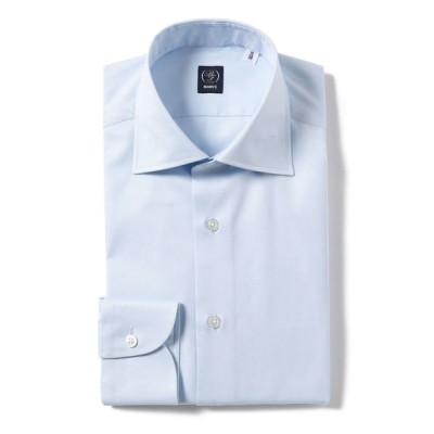 BEAMS MEN / BEAMS F / ファインツイル ワイドカラーシャツ MEN トップス > シャツ/ブラウス