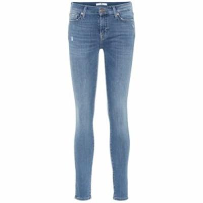 セブン フォー オール マンカインド 7 For All Mankind レディース ジーンズ・デニム ボトムス・パンツ The Skinny mid-rise jeans Light