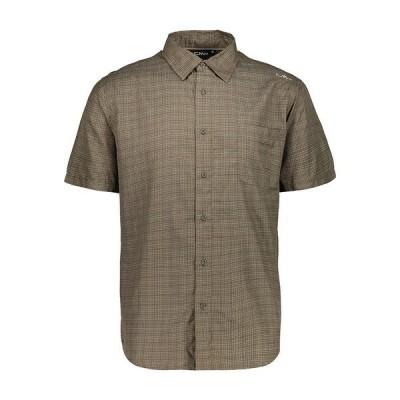 シーエムピー シャツ メンズ トップス CMP Shirt Wood / Corda