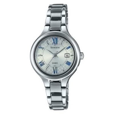 CASIO SHEEN カシオ ソーラー電波 腕時計 レディース シーン 2020年11月 SHW-7000TD-7AJF 45