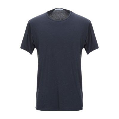 RVLT/REVOLUTION T シャツ ダークブルー S コットン 100% T シャツ