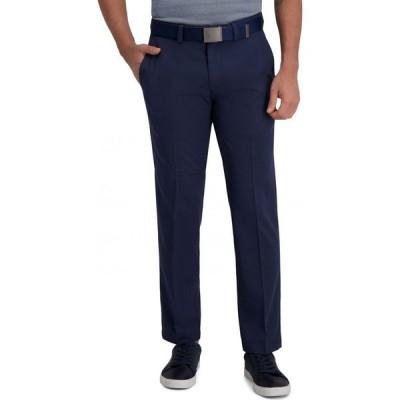 ハガー Haggar メンズ スラックス ボトムス・パンツ Classic-Fit Cool Right Performance Flex Flat-Front Solid Dress Pants Ink