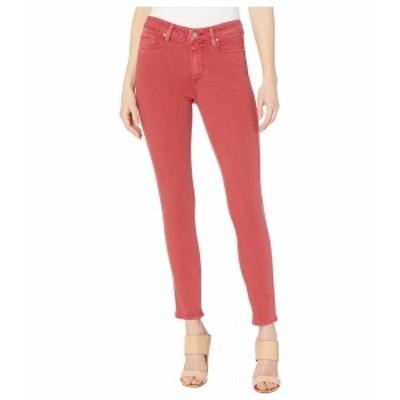 ペイジ レディース デニムパンツ ボトムス Hoxton Ankle Jeans in Vintage Bright Garnet Vintage Bright Garnet