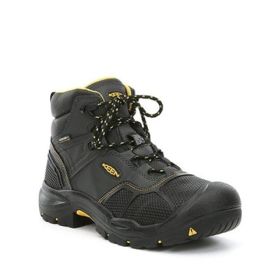 キーン メンズ ブーツ・レインブーツ シューズ KEEN Men's Utility Logandale Waterproof Steel Toe Work Boots