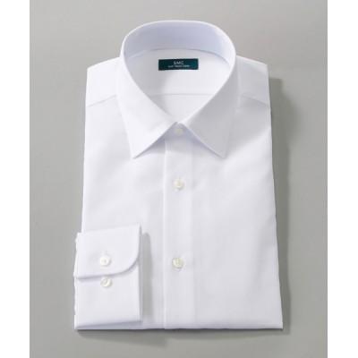 [シャツ]エスエムシー 形態安定 スリムフィット CMD080-100 白 38-84
