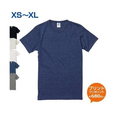 4.4oz トライブレンドTシャツ United Athle(ユナイテッドアスレ) S.M.L.XL (オリジナルプリント対応) トライブレンド 半袖