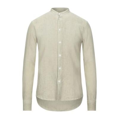 FRADI シャツ ライトグリーン 38 リネン 100% シャツ