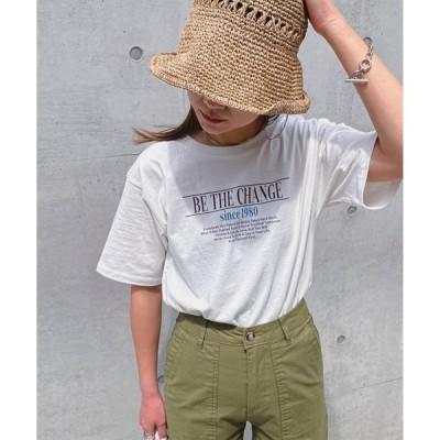 tシャツ Tシャツ ロゴプリントTee