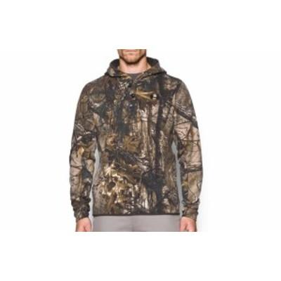 RealTree  ファッション トップス Mens UNDER ARMOUR UA Stealth Reaper Wool Hunting Hoodie - 1297435-946 REALTREE