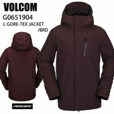 VOLCOM ボルコム ウェア L GORE-TEX JACKET BRD 20-21 スノーボード メンズ ジャケット エルゴア ゴアテックス