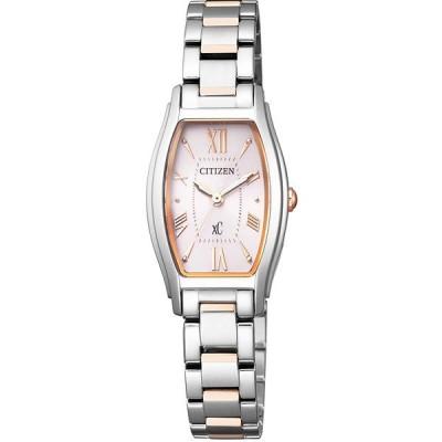 (国内正規品) (シチズン) CITIZEN 腕時計 EW5544-51W (クロスシー)xC レディース(ステンレスバンド ソーラー アナログ)