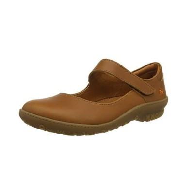 art Antibes Flat Shoes Women Brown - 6.5 - Ballerinas Shoes【並行輸入品】
