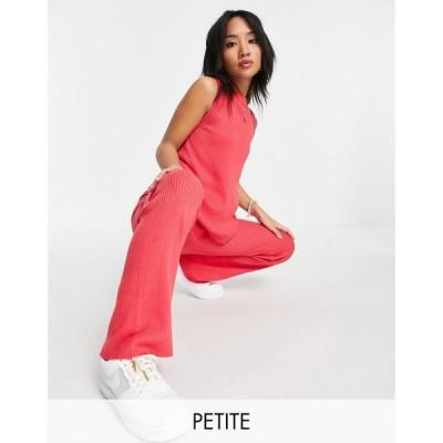 スリードベア Threadbare Petite レディース ワンピース・ドレス Peyton Knitted Tank Top And Wide Leg Trouser Co-Ord In Pink ブラウン