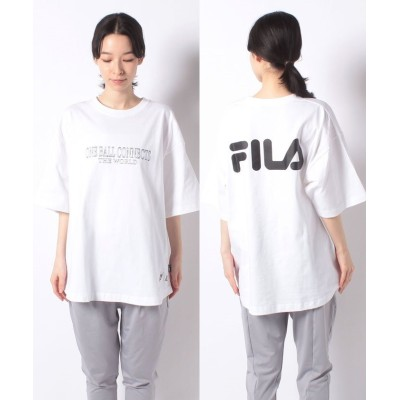 (FILA(Casual)/フィラ カジュアル)BUG Tシャツ/レディース ホワイト