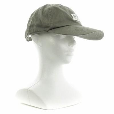 【中古】コンバース CONVERSE 帽子 キャップ 野球帽 BBキャップ ロゴ 57-59 グレー /M1 レディース