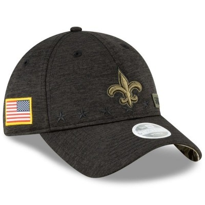 ニューエラ レディース 帽子 アクセサリー New Orleans Saints New Era Women's 2020 Salute to Service 9TWENTY Adjustable Hat