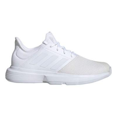 [アディダス] テニスシューズ GameCourt W(GTE94) レディース フットウェアホワイト/フットウェアホワイト/ダッシュグレー(EG2016) 24.5 cm