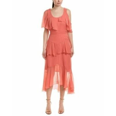 Nicole ニコール ファッション ドレス Nicole Miller Silk Maxi Dress 4