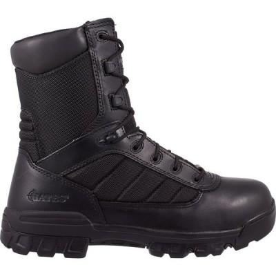 ベイツ ブーツ&レインブーツ シューズ メンズ Bates Men's Enforcer Side Zip Wide Work Boots Black