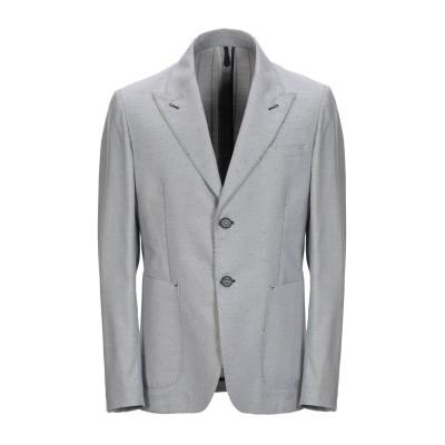 FAG テーラードジャケット グレー 48 ポリエステル 69% / レーヨン 29% / ポリウレタン 2% テーラードジャケット