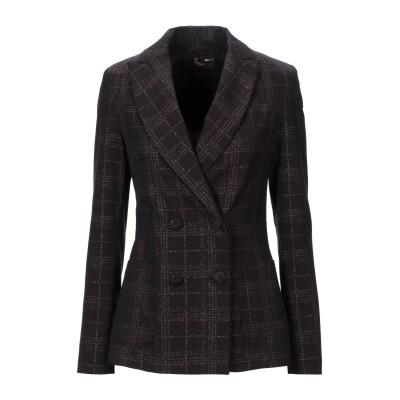 OLLA PARÉG テーラードジャケット ディープパープル 38 コットン 75% / ナイロン 20% / ポリウレタン 5% テーラードジャケ